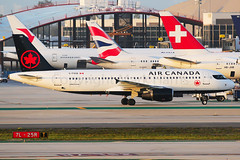 Air Canada Airbus A320-214 C-FXCD (Mark Harris photography) Tags: spotting lax la canon 5d plane aviation
