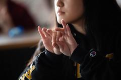 Sign Language club (uwoshkosh) Tags: uwo club universityofwisconsinoshkosh sign signing uwoshkosh language special education
