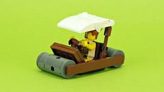Stone age car (Flintstones) (de-marco) Tags: lego car stoneage flinstones vehicle