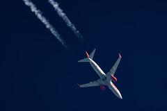 Jet2 Boeing 737-85P G-JZHG (Thames Air) Tags: jet2 boeing 73785p gjzhg contrails contrailspotting