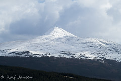 Ben Lomond (rjonsen) Tags: mountain munro snow covered couds sky landscape scotland alba moody