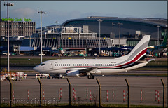 9H-YES Boeing 737-5Q8 Air X Charter (elevationair ✈) Tags: dub eidw dublin airport dublinairport airliners airlines avgeek aviation airplane plane aircraft vip airxcharter boeing 737 735 boeing7375q8 9hyes