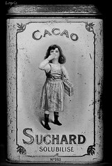Cacao (Logris) Tags: can dose alt old bw sw nostalgie nostalgia cacao