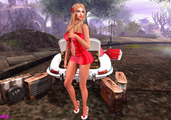 Return Home (alexandra sunny) Tags: arcanespellcaster bishesinc catwa maitreya aviglam lamb luova secondlfe blog blogger fashion woman vanityevent travel home suitcase
