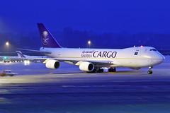 Boeing B747-87UF - HZ-AI4 - HAJ - 04.04.2019(1) (Matthias Schichta) Tags: haj hannover eddv hannoverlangenhagen boeing b7478f saudaarabianairlines hzai4