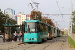 2018-09-10, Minsk, Lahojski Trakt (Fototak) Tags: tram strassenbahn bkm minsk belarus ligne6 145