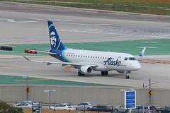 ERJ-175 N623QX Los Angeles 21.03.19 (jonf45 - 5 million views -Thank you) Tags: airliner civil aircraft jet plane flight aviation lax los angeles international airport erj 175 alaska airlines embraer erj175lr n623qx