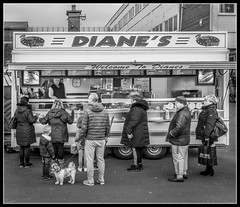 97/365 Diane's (B Ryder) Tags: sony ilce6300 street photography 1650mm dianes food stall ayr