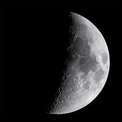 Moon 2019-03-13 (nicklucas2) Tags: astrophotography moon moon2019 moonmar2019
