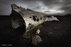 Crashed DC 3 Plane (Dani Maier) Tags: island dc3 beach wreck douglas sólheimasandur