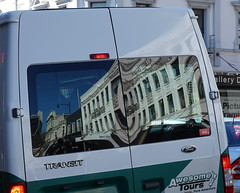Windows in Transit (boeckli) Tags: dunedin reflection windows newzealand vehicle fahrzeug auto transit transport spiegelung fenster 003980 rx100m6