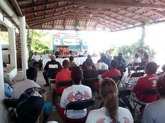 """Inaugura nuestro coordinador Heliodoro_hcde el curso """"salvamento acuático y primeros auxilios"""" que se imparte a Salvavidas de Santa María Colotepec, San Pedro Mixtepec y Tututepec"""