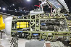 Cutaway (IRL_f) Tags: national museum united states air force usaf f86 saber cutaway jet airplane gun tanks structre