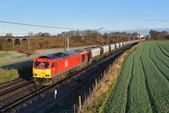 60039-Daresbury-9.1.19 (shaunnie0) Tags: 6h02 60039 class60 ews dbs dbc brush doveholes tug daresbury wcml