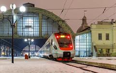 EKr1-001 | Lviv, UA | 05.01.2019 (Alex-ZZZ) Tags: electric train ekr1001 arrived from kiev station lviv электропоезд экр1001 прибыл из киева на станцию львов екр1001