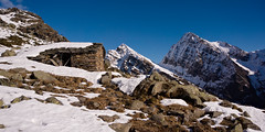 Always good to be out there (Marco MCMLXXVI) Tags: alagna valsesia italy alpe stofful monte tagliaferro corno mud inverno winter snow mountain outdoor wilderness building ruines abandoned mountainpeak rugged remote silence nature scenery landscape panorama sony ilce6000 a6000 pz1650 rawtherapee hiking escursionismo ridge rocks mountainside settlement ancient blue sky montagna alps alpi europe