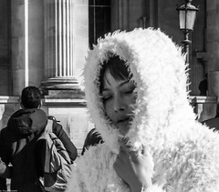 Winter's sun Black & white (thierry_meunier) Tags: carroussel france louvre paris abstract colors creativity crowd effect femme flou flow homme lowkey man men mouvement people rue street streetphotos surexposition woman women