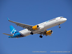 Air Transat A321 (ConcordeNick ArtPhoto) Tags: aircraft airplane airliner jet flight flying aviation aviationphotography transport transportation travel airbus a321 a321200 airtransat concordenickartphoto concordenickartphotozenfoliocom olympus e5