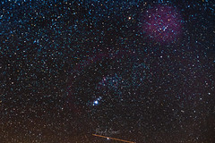 Colorful Orion (Troy A. Snead) Tags: astrophotography orionmolecularcloudcomplex orionsbelt stargazing nightphotography nightsky night astroscape astrophotos astronomy deepskyobjects