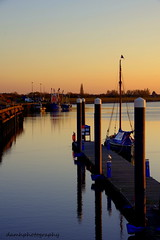 Quayside (damhphotography) Tags: water sun sunset sky quay norfolk kingslynn