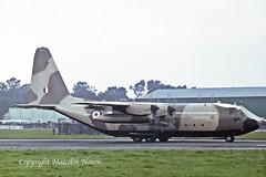 LOCKHEED C130K HERCULES XV307 RAF (shanairpic) Tags: military transport c130 lockheedhercules bigginhill raf royalairforce xv307