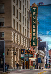 Tennessee Theatre (donnieking1811) Tags: tennessee knoxville tennesseetheatre theatre theater tonemapped exterior sign marquee building architechture canon 60d lightroom photomatixpro