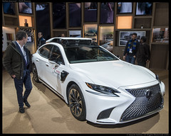 "Lexus 500h ""P4"" with fourth-generation automated driving platform"