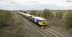 BR Large Logo Spoon (JohnS87) Tags: ecs statesman rail brentingby leicestershire locomotive services ltd br large logo class 47