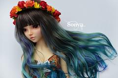 DSC_2112 (sonya_wig) Tags: fairytreewigs wig bjdwig minifeewig bjd bjdminifee minifeechloe handmadedoll bjddoll dollphoto fairyland fairylandminifee minifee chloe bjdphotographycoloringhair