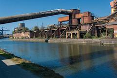 A walk along the Sambre V (jefvandenhoute) Tags: belgium belgië belgique charleroi samber sambre walking river industry industrialarcheology