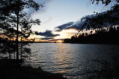 DSC_0486 (MSchmitze87) Tags: schweden sweden dalsland kanu canoeing see lake sunset