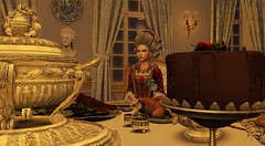 People of St. Petersburg - Knyaginya Dashkova (Ludwikamaria) Tags: winter palace saint petersburg second life history historical roleplay 18th xviii century catherine great paul i pavel petrovich russia empire russian golden age imperial court peter iii dashkova