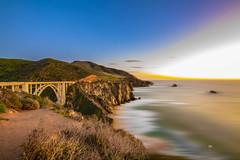 PACIFIC     -1979-02-18- (zayaspointofviewphotography1) Tags: bridge bixbycreekbridge bigsur california pacific pacificocean sunset nikon d850