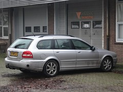 2004 Jaguar X-Type Estate (harry_nl) Tags: netherlands nederland 2019 schalkwijk jaguar xtype estate 55nvlv sidecode6