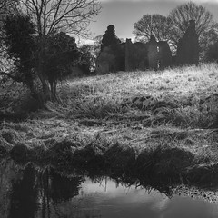 Winter ghost (thriddle) Tags: hamptongay oxfordshire xtransformer