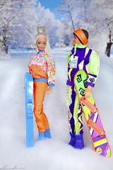 Tropical Splash Barbie, Great Shape Ken (alenamorimo) Tags: barbie barbiedoll dolls superstar kendoll barbiecollector