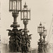 Victorian Lamps on the Gillette Building