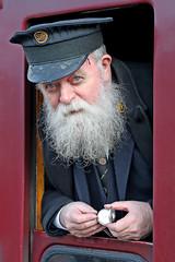 Porter David Overton (Roger Wasley) Tags: david overton porter severn valley railway kidderminster heritage portait people