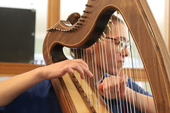 2 of Harps 1578 (Tony Withers photography) Tags: musicians harpists duo adel karina wilson music