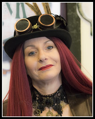 IMG_0138-7 (Scotchjohnnie) Tags: whitbysteampunkweekendfebuary2019 whitbysteampunkweekend steampunk costume thepavillion people portrait female canon canoneos canon7dmkii canonef70200mmf28lisiiusm scotchjohnnie