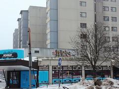Herwood (Thomas_Chrome) Tags: graffiti streetart street art spray can wall walls tampere suomi finland europe nordic illegal vandalism rooftop hervanta