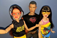Tag Game - Selfies! (Pablo Pacheco 85) Tags: batgirl supergirl superboy mattel barbie dcheroes