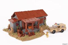 Stranger Things | Sheriff Hopper's Cabin + Chevrolet Blazer