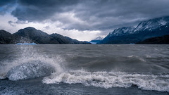 Grey Lake (Tom Neumann) Tags: sony sonyalpha sonya7m2 ilcea7m2 28mm glaciar grey torresdelpaine chile hielo lago tormenta storm lake ice glacier patagonia glaciargrey water landscape nature adventure aventura sky