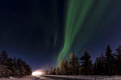 Z19_0312 LT (Zoran Babich) Tags: lapland lappi finland suomi auroraborealis northernlights road winter