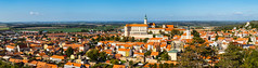 Panorama South Moravian small town of Mikulov (PhotoVision by Pavel Rezac) Tags: agriculture architecture autumn beautiful bottle building castle chapel church city country cultivation cultural czech destination europe european farm fortress garden hill historic historical history landmark landscape medieval moravia old outdoor panorama red rock romantic roof south summer sunny sunset tourism touristic tower town travel unesco view vineyard viniculture white wine mikulov southmoravianregion czechrepublic cz