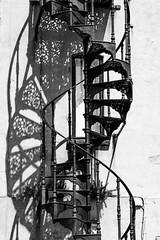 Spiral Stair Shadow (mattbeee) Tags: aldeburgh coast shadow spiral stairs steps suffolk