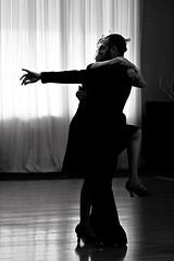 Dancing In The Dark (Wiley C) Tags: dancers silhouette pasadena showcase california january2019 ballroom bw blackwhitephotos