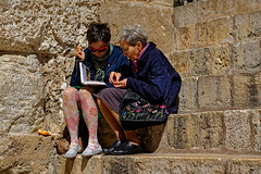 Jerusalem (Hemo Kerem) Tags: israel street a7rm2 a7rii nikon85mmf2ais nikkor85mmf2ais ais85mmf2 ais285 85mm manualfocus mf nikon nikkor sony sonya7rm2 ilce7rm2 alpha churchoftheholysepulchre holysepulchre church religion religious prayers jerusalemoldcity oldcity flowers
