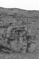 Cliffs,Collieston_Mar 19_523 (Alan Longmuir.) Tags: monochrome grampian aberdeenshire collieston cliffs